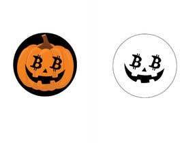 #11 para Design a Cool Bitcoin Pumpkin Stencil por kilibayeva
