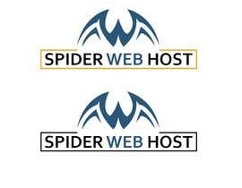 #21 cho I want a modern designed logo for a new web host company designed. The web address is spiderwebhost.uk Company name is spider web host bởi Ashraful079