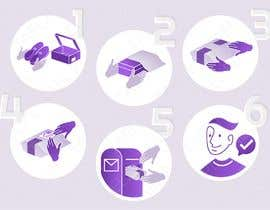 #20 for Illustration for website and newsletter on how to return shoes by pbobek