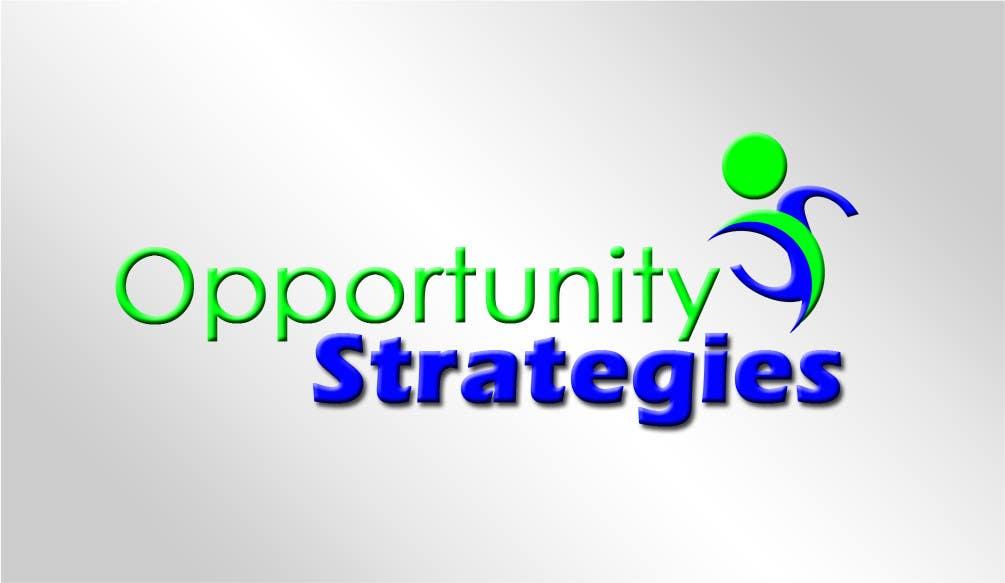 Kilpailutyö #586 kilpailussa Logo Design for Opportunity Strategies