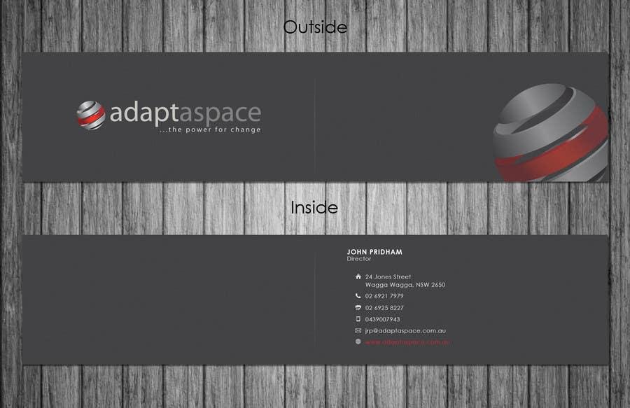 Konkurrenceindlæg #                                        8                                      for                                         Business Card for adaptaspace