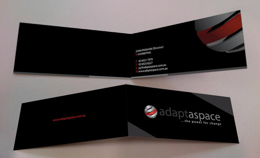Konkurrenceindlæg #                                        35                                      for                                         Business Card for adaptaspace