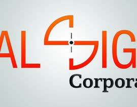 #3 for I need a logo designed. Our company build digital rifle scope which is very high tech and very accurate. The image of the rifle scope is very clear. Thats why we name it : Realsight (Corporation). You can add corporation or leave it. by tinbi