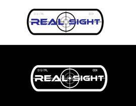 #11 for I need a logo designed. Our company build digital rifle scope which is very high tech and very accurate. The image of the rifle scope is very clear. Thats why we name it : Realsight (Corporation). You can add corporation or leave it. by hbakbar28