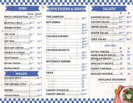#15 for Design a Tri-Fold/Digital Menu for Deli by paulandrewsantos