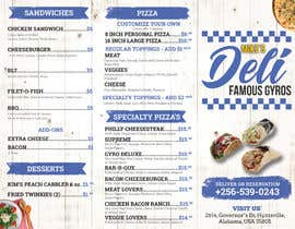 #16 for Design a Tri-Fold/Digital Menu for Deli by paulandrewsantos