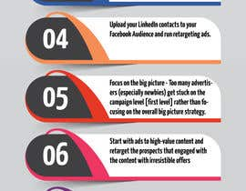 #2 for Infographic for Ten Facebook Ads Tips by Graphicans