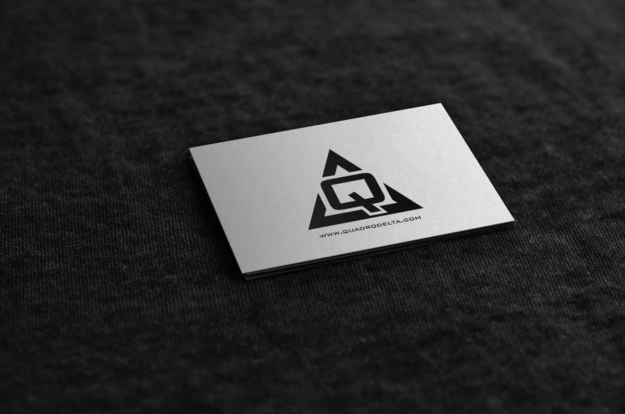 Inscrição nº                                         16                                      do Concurso para                                         Design Logo and INTRO video for Quadro Delta
