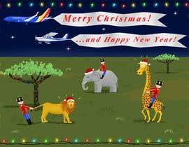 Nro 3 kilpailuun Illustrate a Christmas Card käyttäjältä danielcflores