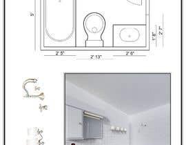 Nro 8 kilpailuun Design Board - Bathroom käyttäjältä Emskverd