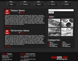 #11 cho Design a Website Mockup for Wordpress bởi souravhalder016