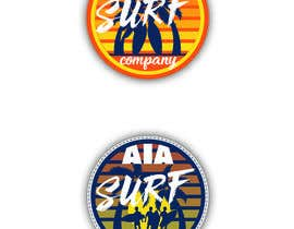 #8 untuk I need an image for a 'surf sticker' oleh MartinaRS