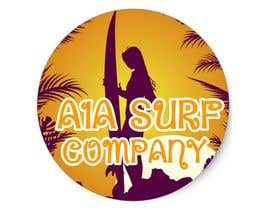 #1 untuk I need an image for a 'surf sticker' oleh vrcreationz