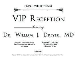 Nro 28 kilpailuun VIP reception Invitation käyttäjältä afiffazulkiflli