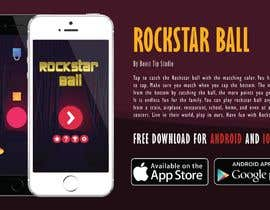 #4 for Design a graphic design advertisement of any ONE of my game iphone/android apps! by AntArtAnimate