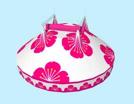 #40 for DESIGN FOR SAKURA CIRCUS TENT by WolfCubDesigns