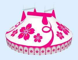 #58 for DESIGN FOR SAKURA CIRCUS TENT by WolfCubDesigns