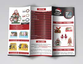 #2 for Create a Christmas Themed Tri-Fold Brochure / Product Catalogue by cfbutterfly