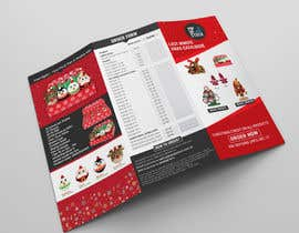 #15 for Create a Christmas Themed Tri-Fold Brochure / Product Catalogue by emranadobe24