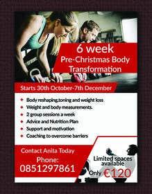 Billede af                            design my fitness promo poster