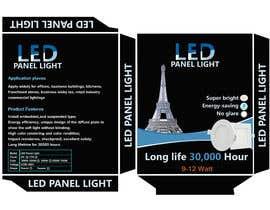 #19 cho Design box lamp with black background bởi Manik012