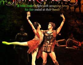 #59 para Graphic Design for ballet company for a ballet called Spartacus por nayrix101