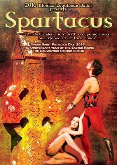 Inscrição nº                                         20                                      do Concurso para                                         Graphic Design for ballet company for a ballet called Spartacus