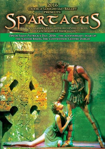 Inscrição nº                                         26                                      do Concurso para                                         Graphic Design for ballet company for a ballet called Spartacus