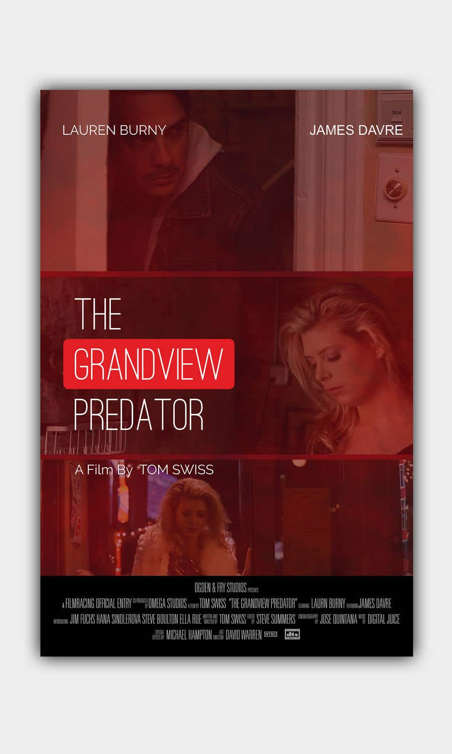 "Contest Entry #20 for Create a Movie Poster - ""Grandview Predator"""