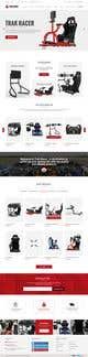 Imej kecil Penyertaan Peraduan #19 untuk Design a home page including header and footer