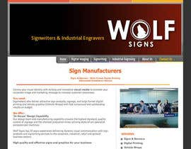 #227 para Logo Design for Wolf Signs por NexusDezign