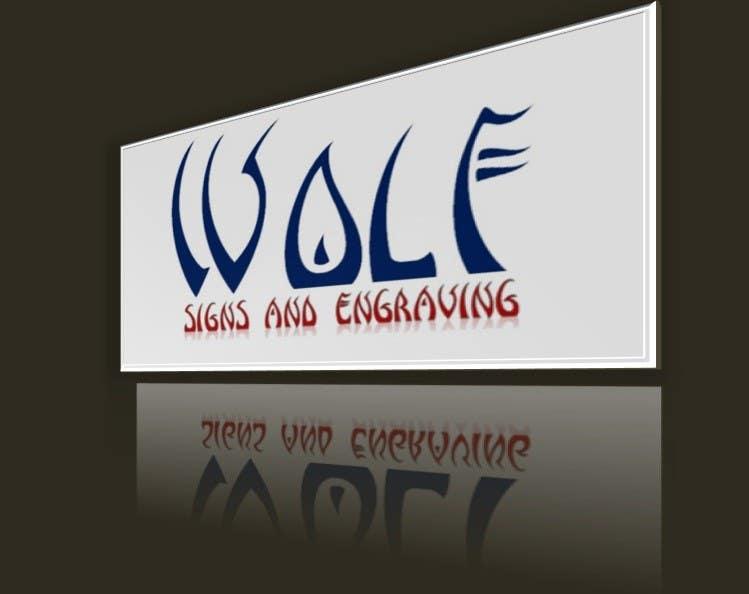 Bài tham dự cuộc thi #                                        143                                      cho                                         Logo Design for Wolf Signs