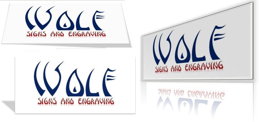 Bài tham dự cuộc thi #                                        142                                      cho                                         Logo Design for Wolf Signs