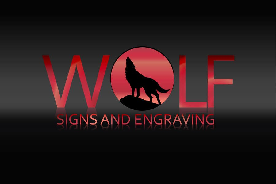 Bài tham dự cuộc thi #                                        133                                      cho                                         Logo Design for Wolf Signs