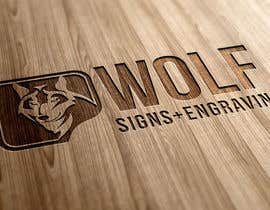 #273 para Logo Design for Wolf Signs por indracorp