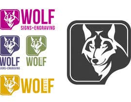 #272 para Logo Design for Wolf Signs por indracorp