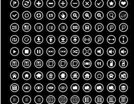 #103 for Thin circle outline Icons AND Desktop wallpapers by noornada