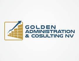 "#109 untuk Design a Logo for ""Golden Administration & Consulting N.V."" oleh Astagrapia"