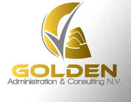 "#134 untuk Design a Logo for ""Golden Administration & Consulting N.V."" oleh kmgp"