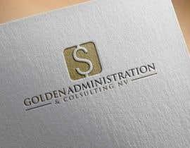 """#86 untuk Design a Logo for """"Golden Administration & Consulting N.V."""" oleh ibed05"""