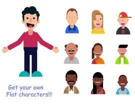Nro 1 kilpailuun Illustrate 6 characters - avatars käyttäjältä wahidxaman