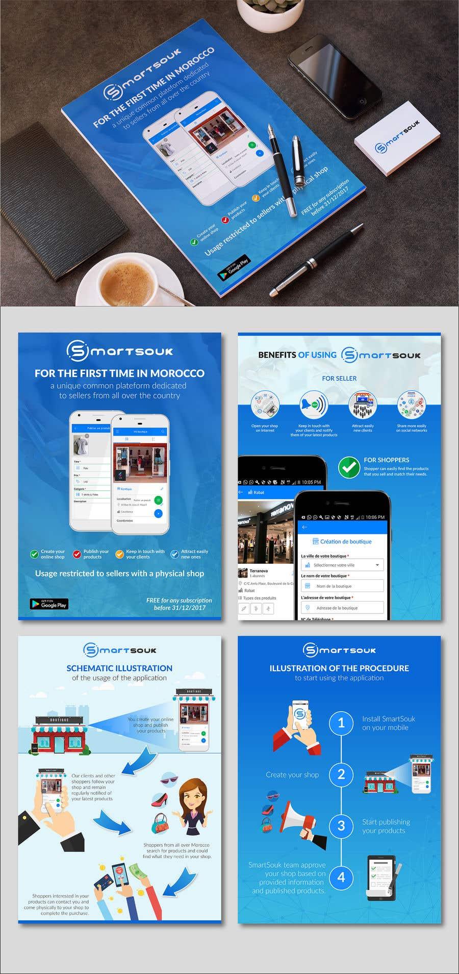 Penyertaan Peraduan #28 untuk Design Brochure for sales mobile application