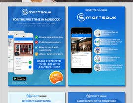 #35 untuk Design Brochure for sales mobile application oleh AthurSinai