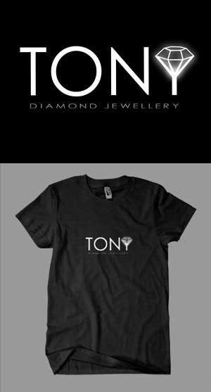 Kilpailutyö #181 kilpailussa Logo Design for Tony Diamond Jewellery