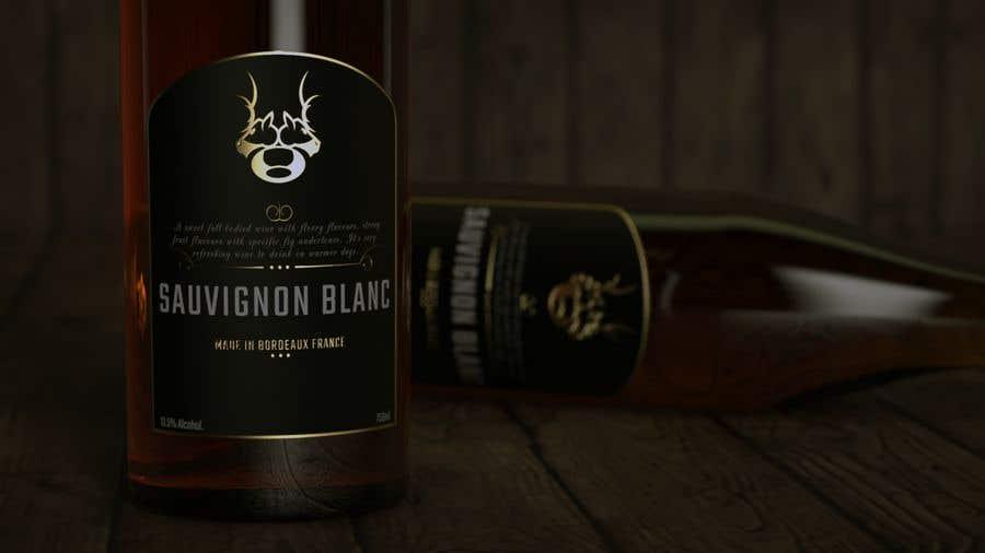 Inscrição nº 48 do Concurso para Wine Logo Design --- Finland reindeer