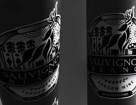 #76 para Wine Logo Design --- Finland reindeer por aldeavenezolana1