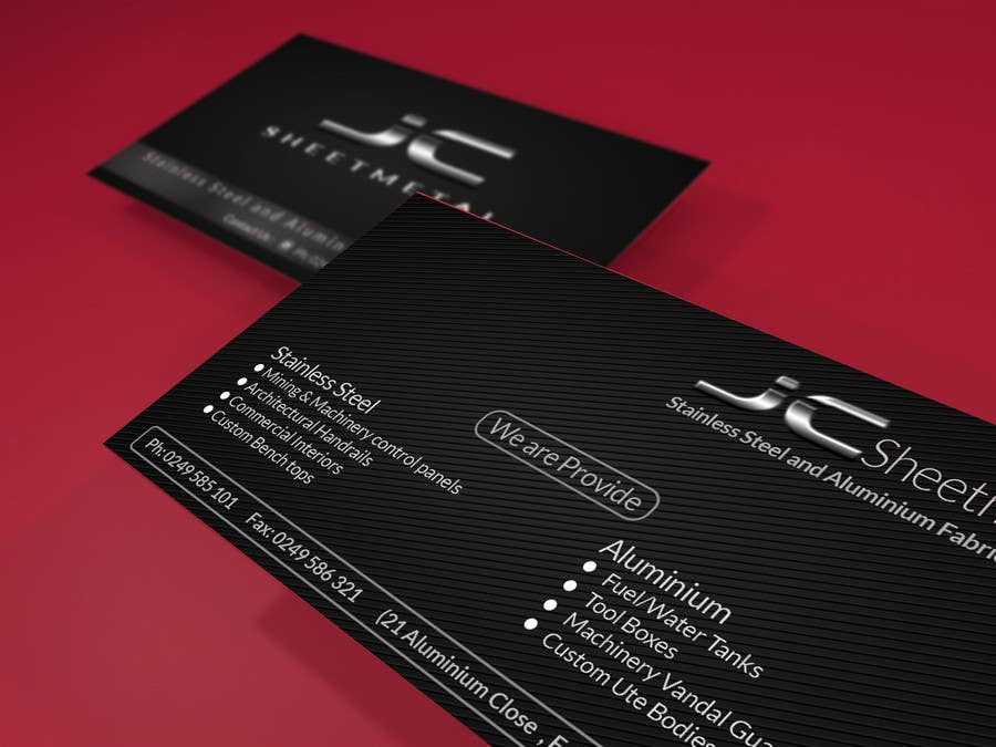 Entry #28 by KGMNA for Design some Business Cards for fabrication ...