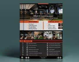 nº 30 pour FLYER for Coworking Office Space for Rent par nabilkhalfansaid