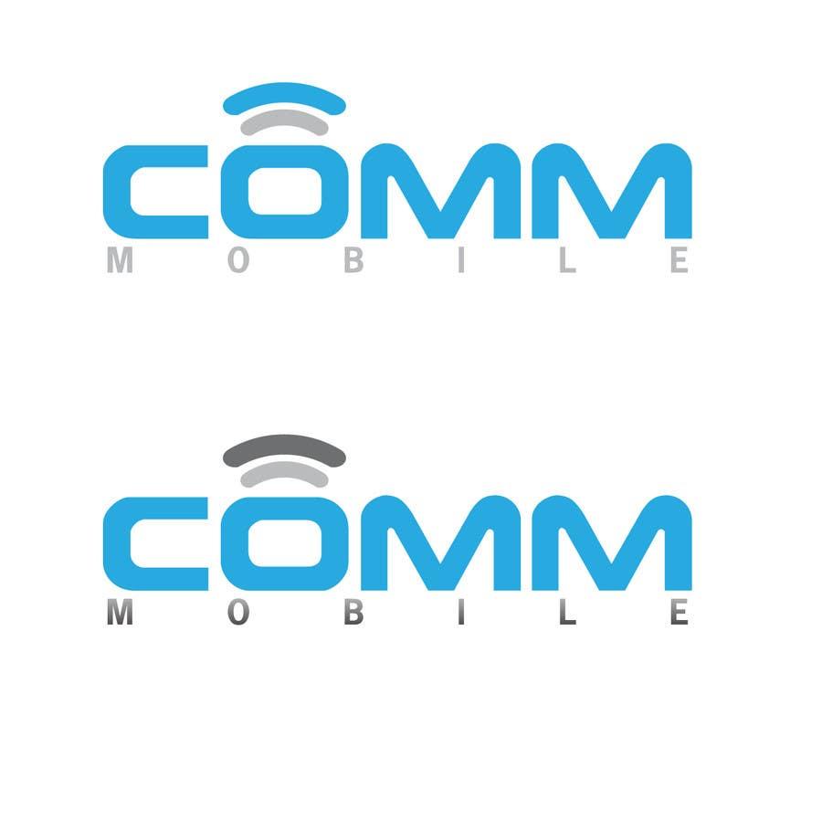 #266 for Logo Design for COMM MOBILE by mnjprsnn