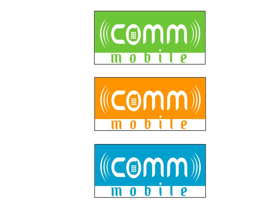 Bài tham dự cuộc thi #250 cho Logo Design for COMM MOBILE